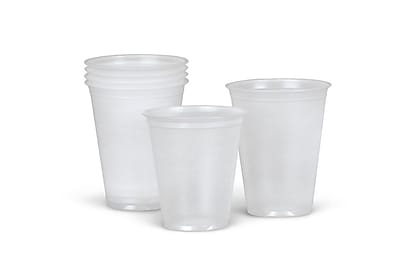 Medline Disposable Cold Plastic Drinking Cups, 5 oz., 2500/Pack 521501