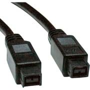 Tripp Lite F015-010 10' IEEE 1394b Hi-speed Cable FireWire 800, Black