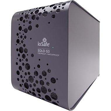ioSafe® Solo G3 3TB USB 3.0 External Hard Drive, Gray
