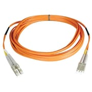 Tripp Lite 1' Duplex MMF LCM to LCM Patch Cable, Orange