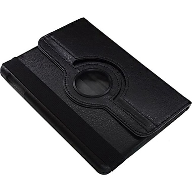 Premiertek® Flip Case With 360 Degree Rotating Stand For iPad Mini, Black