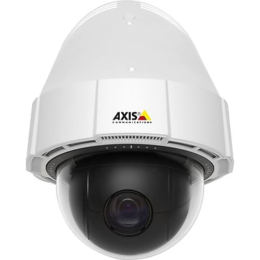 Axis Communications 0588-001 Wired Dome Network Cameras With Day/Night, White