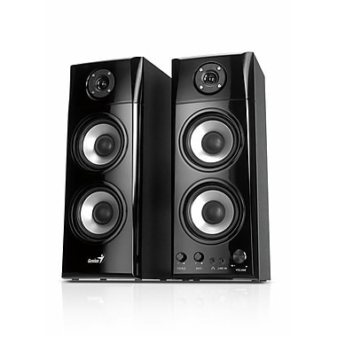 Genius SP-HF1800A 50 W 3-Way Hi-Fi Wood Speaker System