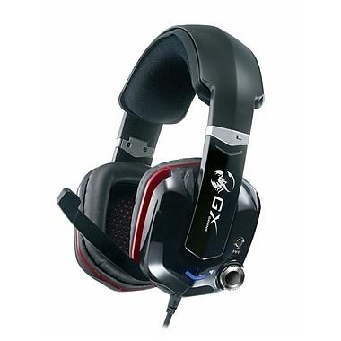 Genius Cavimanus Virtual 7.1 Channel Gaming Headset, Black