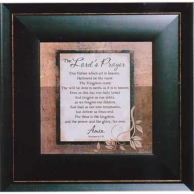 Lord's Prayer, Framed, 6
