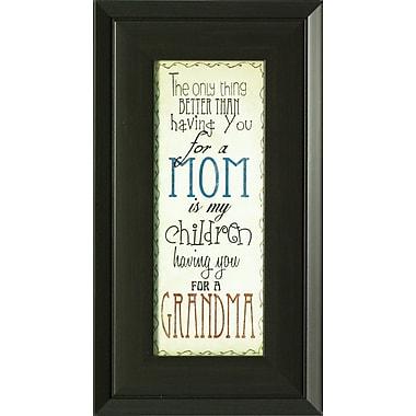 Mom & Grandma, Framed, 4