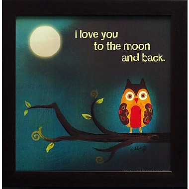 To The Moon And Back I, Framed, 12