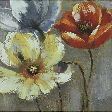 Painted Poppies I, Canvas, 24