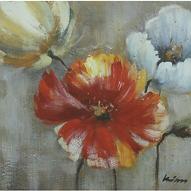 Painted Poppies II, Canvas, 24
