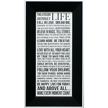 This Is Your Life, Framed, 8