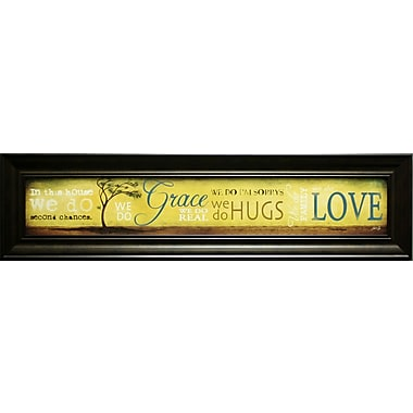 Grace And Love, Framed, 6
