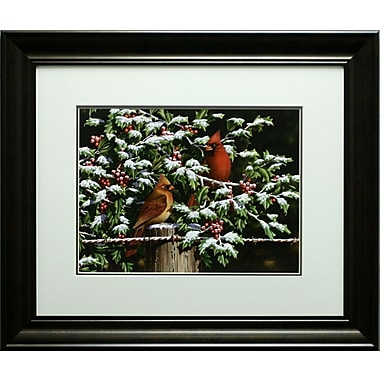 Hangin' Out in The Holly, Framed, 18