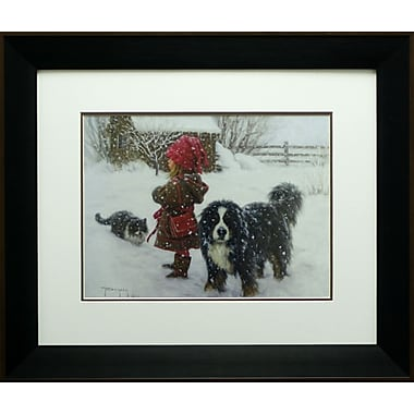 Ivan And The Girls, Framed, 18
