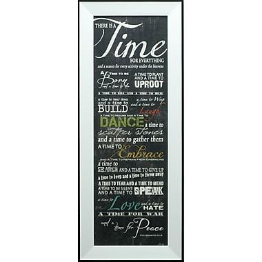 Time For Everything, Framed, 12