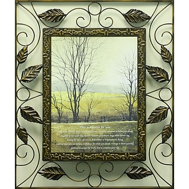 Wish For You, Metal, Framed, 12
