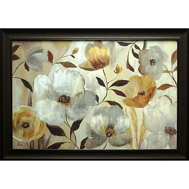 Golden Flower, Framed, 24