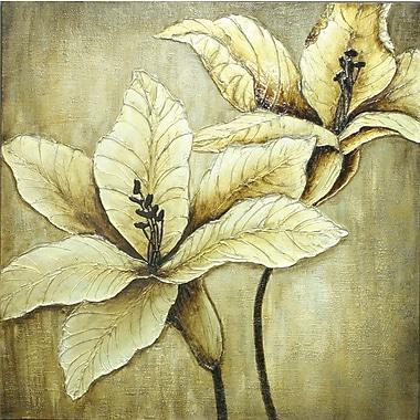 Bronze Elegance, Oil Canvas, 40