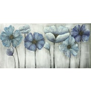 "Blue For You, Oil Canvas, 30"" x 60"""