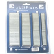 Crisp-Air Narrow Crown Staples Variety Pack, 4 Sizes, 18 Gauge, 2,000/Pack