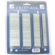 Crisp-Air - Agrafes à couronne étroite, paquet varié, 4 tailles, calibre 18, paq./2000