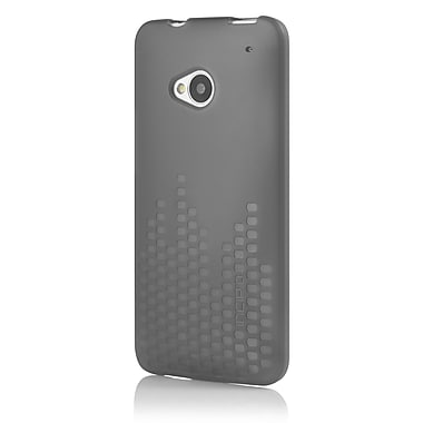 Incipio® Frequency TPU Textured Impact Resistant Jelly Case For HTC One, Translucent Mercury