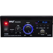 Pyle® PCAU25A 80 W Mini Stereo Power Amplifier With USB/SD Card Reader