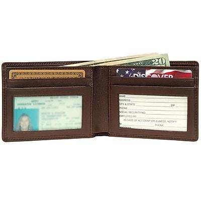 Royce Leather Men's Wallet, Coco 3oz