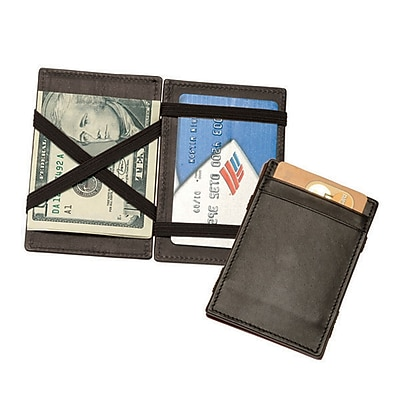 Royce Leather Magic Wallet, Black