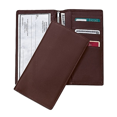 Royce Leather CHECKBOOK & SECRETARY