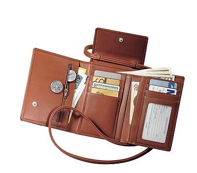 Royce Leather Passport Case, Tan