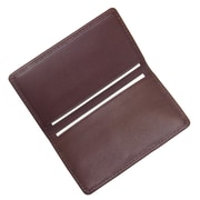 Royce Leather Business Card Case, Burgundy