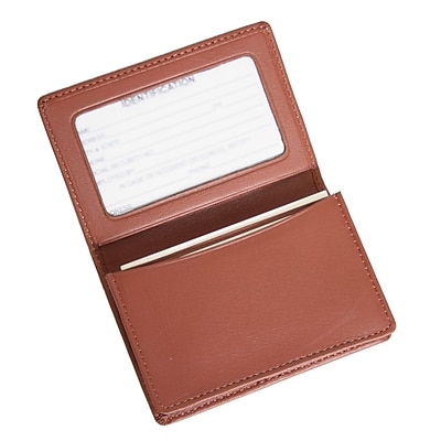 Royce Leather Card Holder, Tan