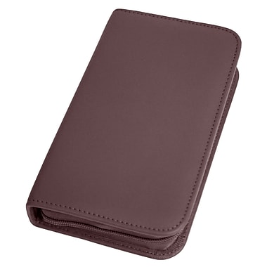 Royce Leather Travel & Groom Kit Burgundy