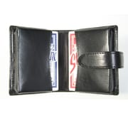 Royce Leather Double Decker Playing Card Set, Black