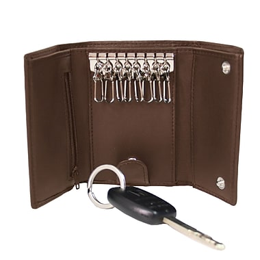 Royce Leather Key Case Wallet, Coco, Debossing, Full Name