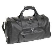 Royce Leather Classic Sports Duffle Bag, Black