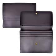 Royce Leather - Serviette à rabat 'Jameson', noir