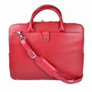 Royce Leather Briefcase Red