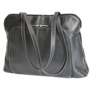 Royce Leather Executive Tote Bag Black