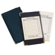Royce Leather Deluxe Pocket Jotter, Black