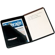 Royce Leather Writing Padfolio Black 6 Slots