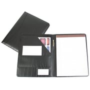 Royce Leather Padfolio Black