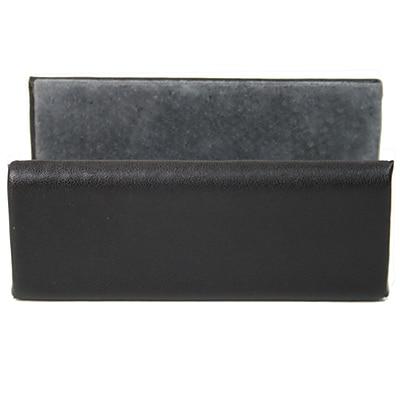 Royce Leather Business Card Holder, Black