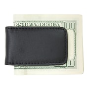 Royce Leather Classic Magnetic Money Clip Black