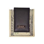 Royce Leather Men's Money Clip, Black