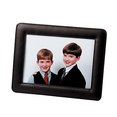 Royce Leather – Cadre simple pour photo, 5 x 7 po