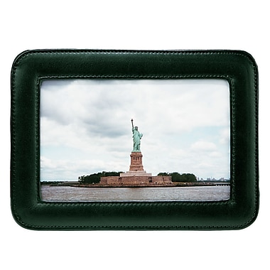 Royce Leather – Cadre photo simple de 4 x 6 po, vert