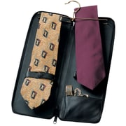 Royce Leather Deluxe Tie Case Black