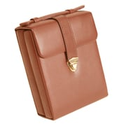 Royce Leather Ladies Pocketbook Jewelry Case Tan