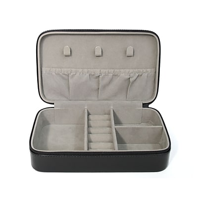 Royce Leather Jewelry Case, Black 12oz